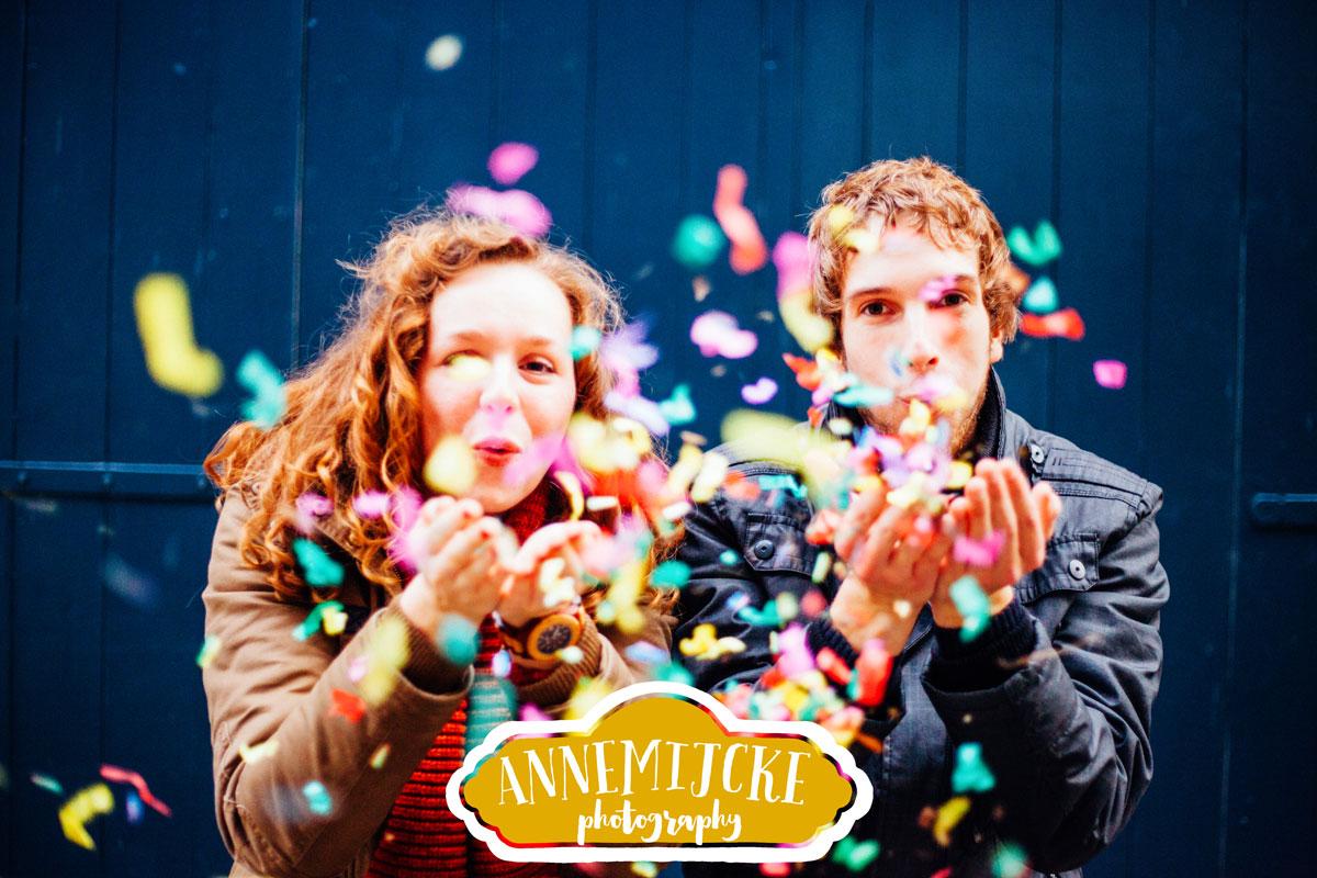 Loveshoot confetti Nijmegen