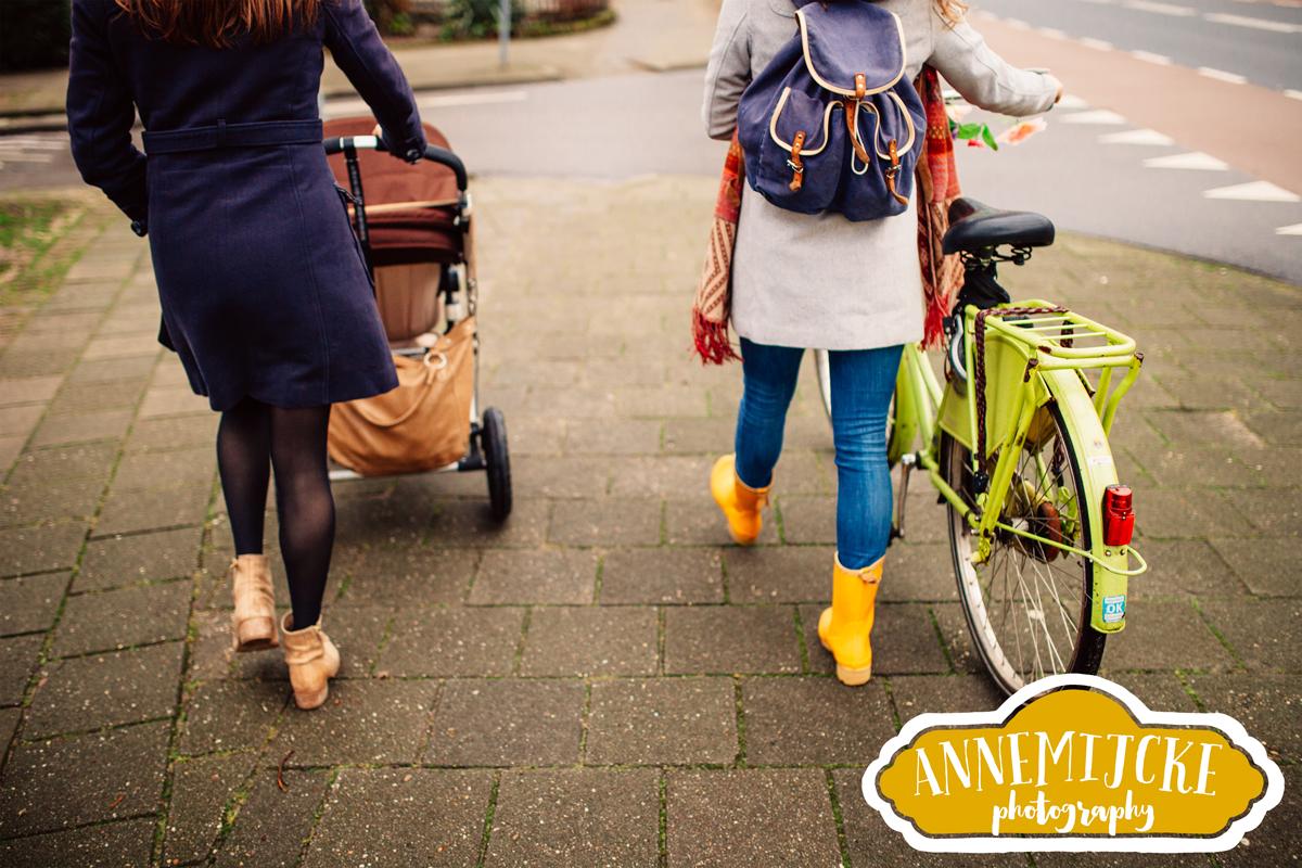 Ongedwongen fotoshoot zussen Nijmegen